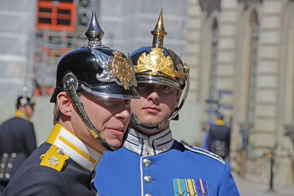 stockholm Royal guards-2440433_1920