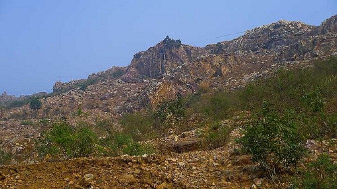 Durgeshwari cave hills