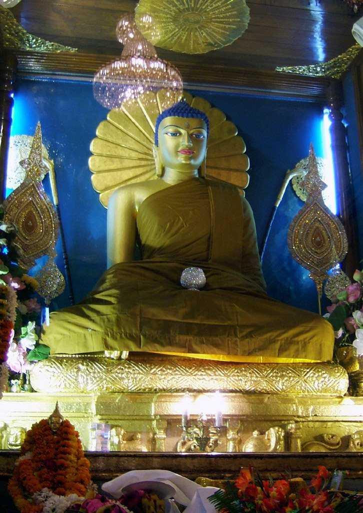 Mahabodhi Temple Buddha