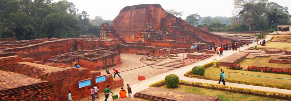 Nalanda University ruins, Nalanda