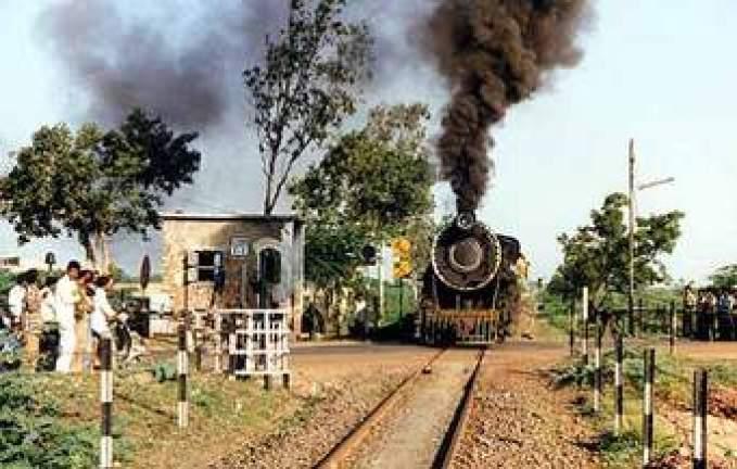 Railway level xing